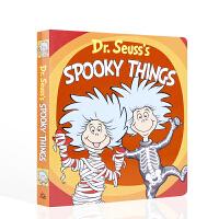 【全店300减100】苏斯博士的诡异事件 Dr. Seuss's Spooky Things 纸板