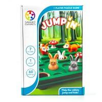 比利时 Smart Games儿童桌面游戏小兔蹦蹦跳智力玩具桌游7-8-9岁
