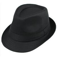 男士帽子夏天礼帽 遮阳太阳帽 透气亚麻凉帽 英伦爵士帽子女 尺码,58cm左右