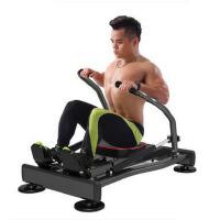 家用训练器健腹锻炼腹肌胸肌训练 多功能划船机腹部健身器材液压划船器