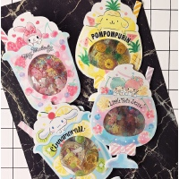 【买2送1】日系卡通手账贴纸贴画烫金麦乐迪大耳狗双子手机贴