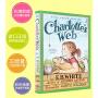 英文原版 夏洛的网/夏洛特的网 Charlotte's Charlottes Web 彩色插图版 送音频