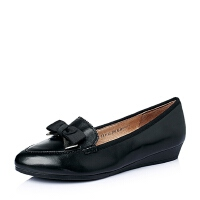 Tata/他她春季专柜同款羊皮时尚舒适女单鞋2XF12AQ5
