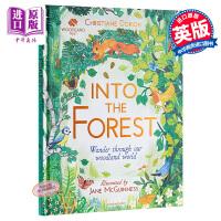 【中商原版】Jane McGuinness:森林景观 The Woodland Trust: Into the Fore