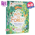 【中商原版】Jane McGuinness:森林景观 The Woodland Trust: Into the For