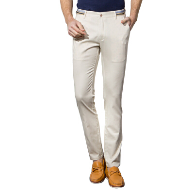 【两条99元 】男士修身韩版休闲裤