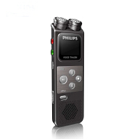飞利浦专业录音笔vtr6900 8g高清降噪商务会议远距离mp3播放器 高清降噪 双麦克定向 插卡扩展 一键录音