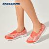 【秒杀价168元 6.21准时开抢 】Skechers斯凯奇女鞋新款休闲塑模鞋 轻质减震凉鞋洞洞鞋 14267