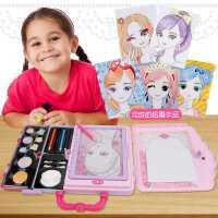 儿童化妆品公主彩妆盒套装女童7-9过家家小伶玩具女孩生日礼物6岁
