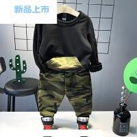 童装运动套装2018新款男童5岁7儿童1小童韩版卫衣春秋修身两件套3