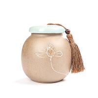 功夫茶具套装茶道家用办公室泡茶喝茶创意原矿茶叶罐简约陶瓷茶艺