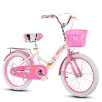 折叠儿童自行车20寸16/女孩公主单车6-8-10-12岁小学生女童车