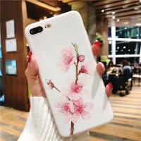 苹果6手机壳iphone8硅胶套7plus磨砂六6s女款潮全包个性创意软胶