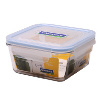 GlassLock/三光云彩 韩国进口钢化玻璃保鲜盒 可微波便当饭盒