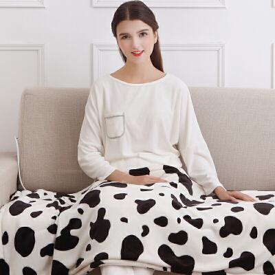 小电热护膝毯电暖被暖身毯加热盖腿办公室发热毛毯坐垫暖脚宝