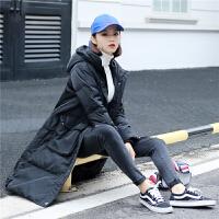 高品质韩国版东大门宽松加厚羽绒服女中长过膝大码冬装外套潮