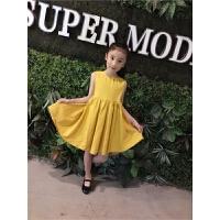 女童连衣裙夏装新款洋气裙子儿童沙滩裙海边度假公主童装