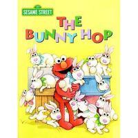 The Bunny Hop (Sesame Street) 英文原版 芝麻街:兔子跳 纸板书