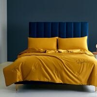 伊迪梦家纺长绒棉夏被纯色刺绣花空调被全棉夏凉被双人空调被纯棉单人床被PV902