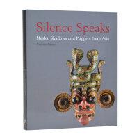 SILENCE SPEAKS - MASKS, SHADOWS AND PUP 柔声细语 亚洲古老的面具 木偶书