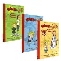 英文原版 Bink and Gollie 宾可和格里 3本套装 全彩版 苏斯奖 儿童桥梁章节小说书