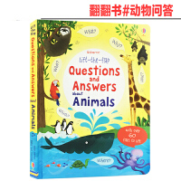 英文原版 Lift the flap系列 Questions and Answers About Animals趣味翻
