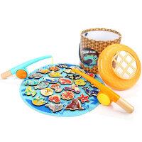 特宝儿小孩磁性钓鱼玩具1-2-3岁儿童一岁半男孩两岁宝宝益智早教