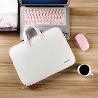 14寸笔记本电脑包ENVY 13 X女macbook pro手提15时尚韩版百搭复古潮流简约