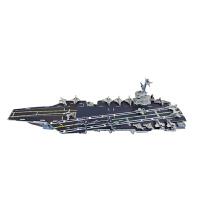 3D立体拼图纸质航空母舰辽宁号军事模型手工拼插战舰儿童玩具