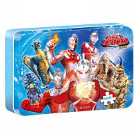 铁盒拼图(100片)咸蛋超人
