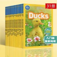 (300减100)【入门级22册】美国国家地理分级阅读读物 National Geographic KIDS Pre Readers 儿童科普少儿百科预备级 全彩版 初级
