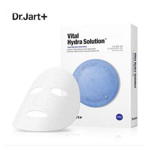 蒂佳婷(Dr.jart+) 水动力活力水润蓝色药丸面膜 5片/盒 快速紧急补水