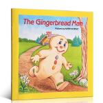 英文原版进口绘本the gingerbread man 姜饼人 儿童图书