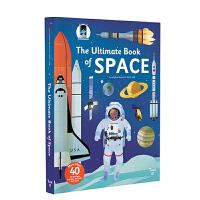 太空 英文原版 3D立体机关游戏书 The Ultimate Book of Space 儿童益智科普书 Vehicl