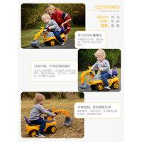 超大号儿童玩具挖掘机男孩挖土机车可坐挖机小孩勾机滑行工程车