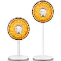 赛亿落地升降摇头小太阳取暖器家用节能立式电暖器气电热扇烤火炉