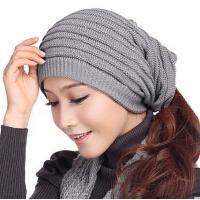 冬天潮毛线帽男士帽子 冬季帽子女士帽子秋 春天针织帽