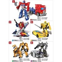 �和�合金�形玩具金���C器人模型套�b男孩玩具