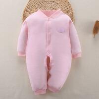 新生儿爬服夏季婴儿保暖连体衣服春秋宝宝连体哈衣