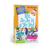 【全店300减100】英文原版进口 My Weirder-est School #7: Ms. Jo-Jo Is a Y