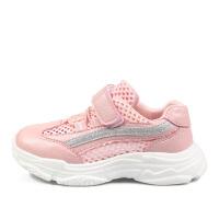 女童运动鞋夏季新款潮网面透气男童小白老爹儿童网鞋