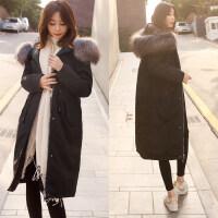 反季女中长款韩版加厚棉袄2018新款女士棉衣女装上新