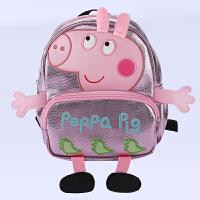 小猪佩奇小背包幼儿园1-3岁小宝宝女童防走失小书包可爱公主小包