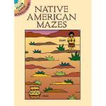 【预订】Native American Mazes