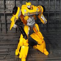 变形玩具金刚5男孩6岁合金汽车机器人模型擎天之柱大黄蜂组合礼物
