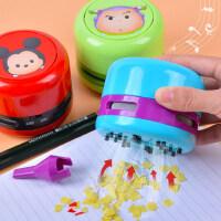迪士尼桌面吸尘器便携学生电动儿童蓝牙玩具机器人扫地机usb可充