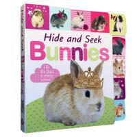 英文原版 Lift-the-Flap Tab: Hide and Seek Bunnies 纸板翻翻书