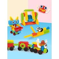 积木玩具 3-6岁幼儿园儿童宝宝拼装拼搭大颗粒刺刺鬃毛刺猬