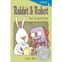 Rabbit and Robot:The Sleepover兔子和机器人 (2013年苏斯银奖)ISBN9780763