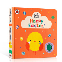 【全店300减100】英文原版进口触摸书 复活节快乐 Baby Touch: Happy Easter! 低幼启蒙节日季